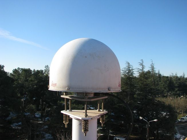 antenna with radome.