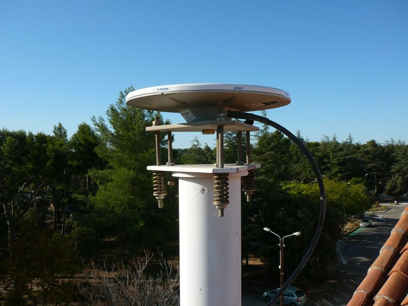 close antenna view