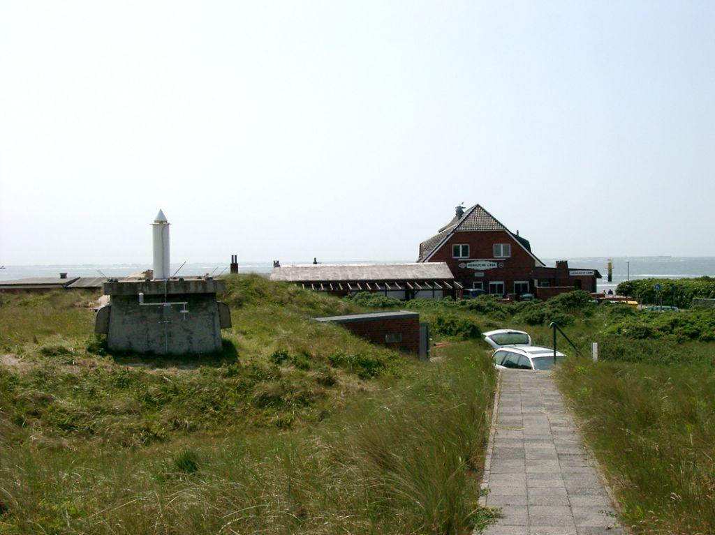 western beach of Borkum island.