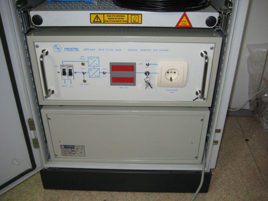 Uninterrupted power supply unit.