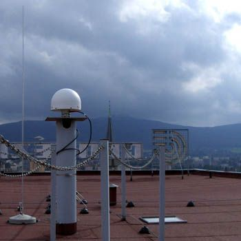 antenna – side view.