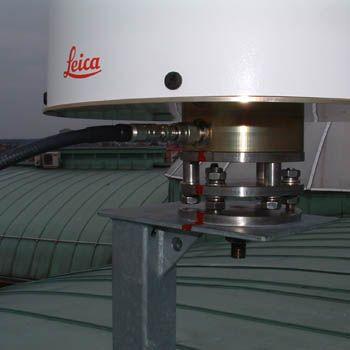 antenna – detail of mounting.