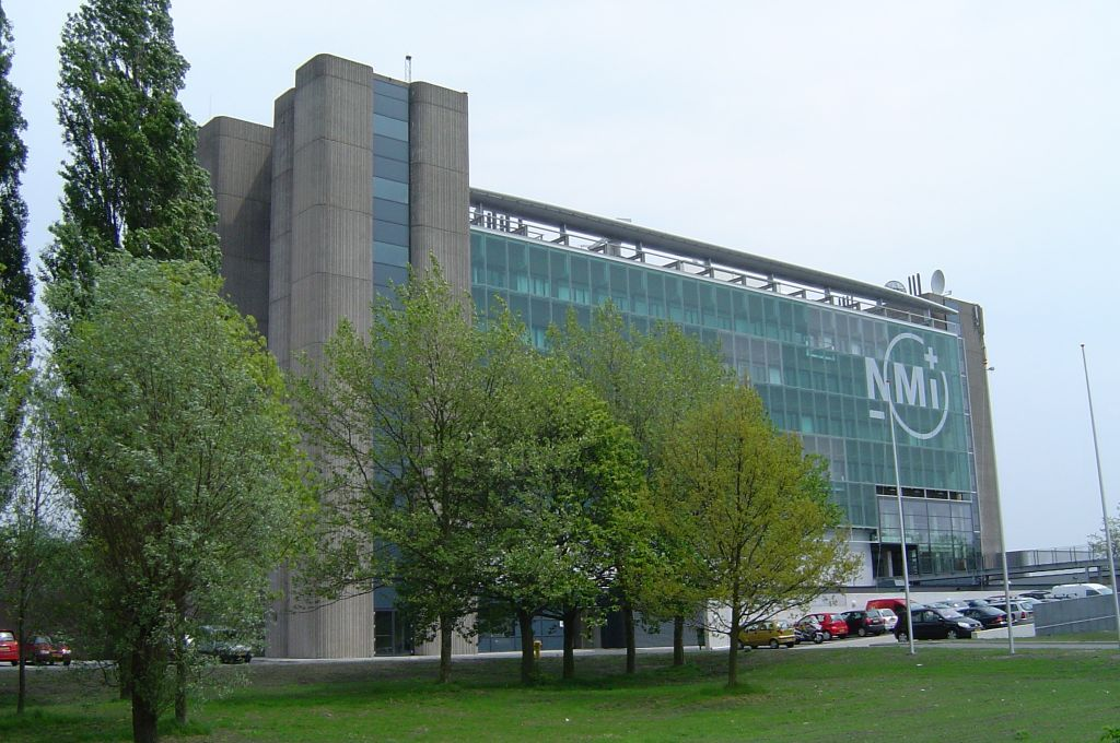 NMI Building (former Geodesy building) with the GPS monuments on the North tower.