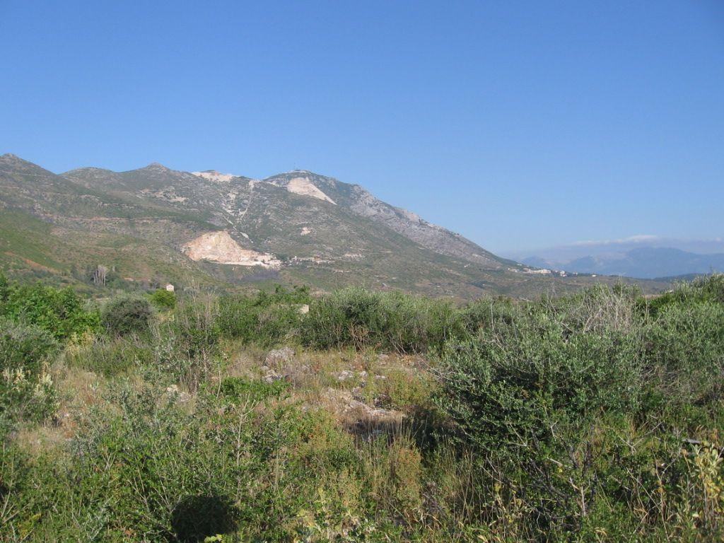 West view taken from antenna basis