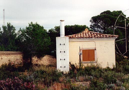 pilar and antenna view.
