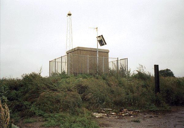 permanent EUREF GPS station at Eijsden (EIJS), The Netherlands.