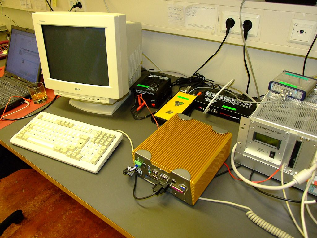 Javad receiver and PC a.s.o.