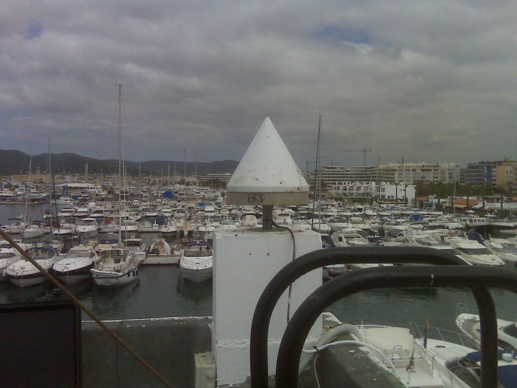 Antenna and Port of Ibiza