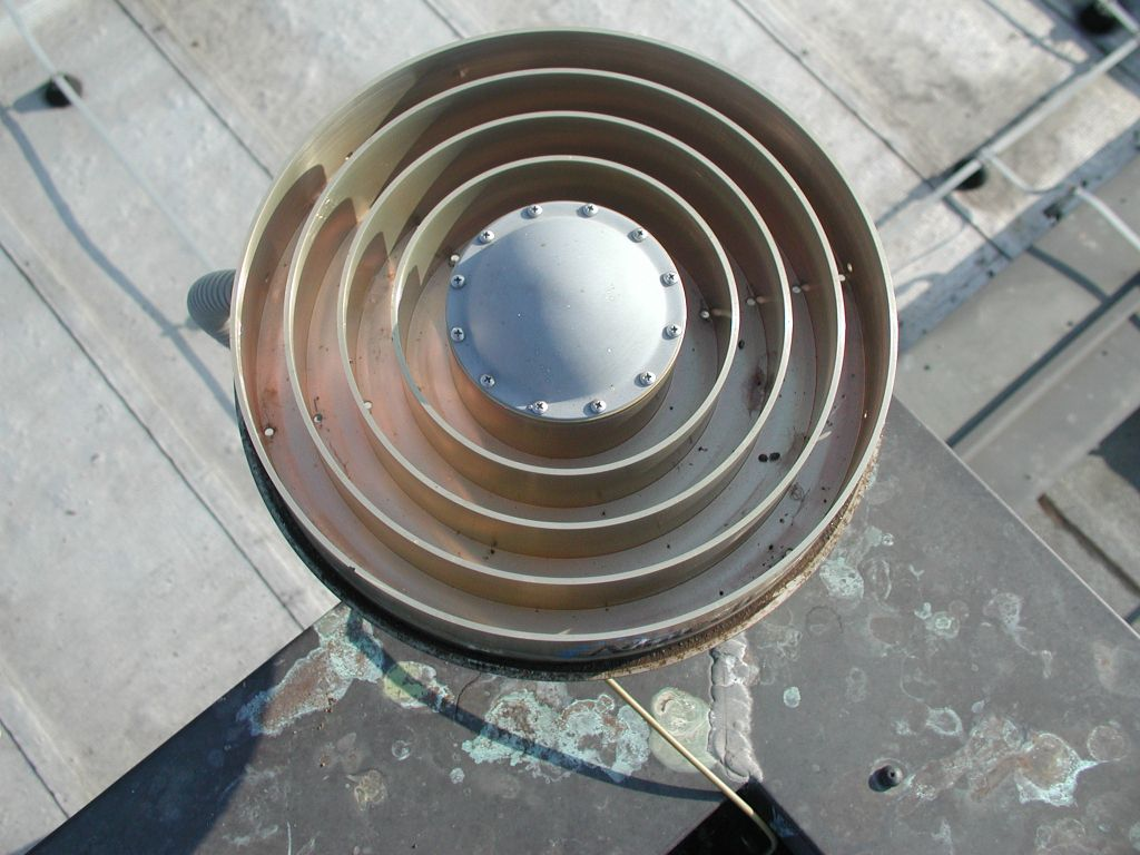 antenna Dorne Margolin with chokerings (top view).