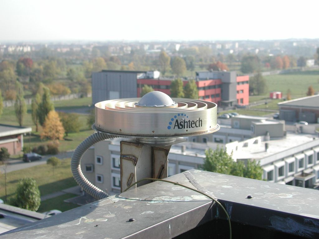 antenna Dorne Margolin with chokerings (side view).