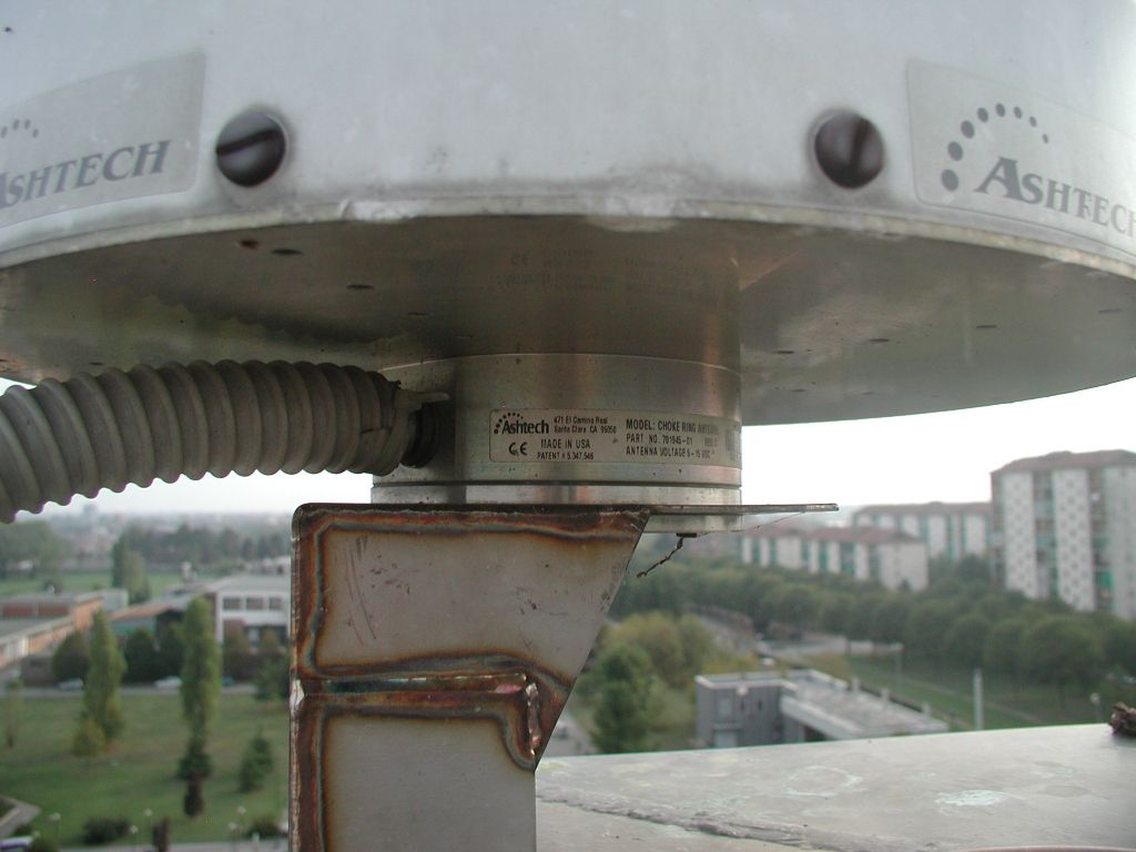 antenna Dorne Margolin with chokerings (close view of reference point).
