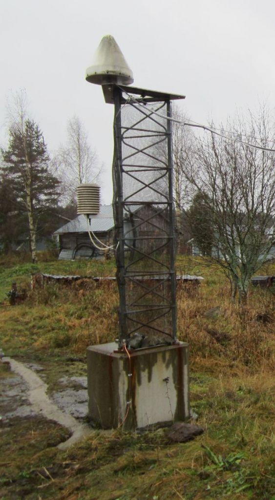 JOEN monument and antenna