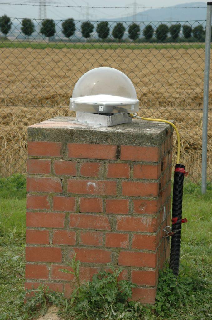 pillar and antenna.