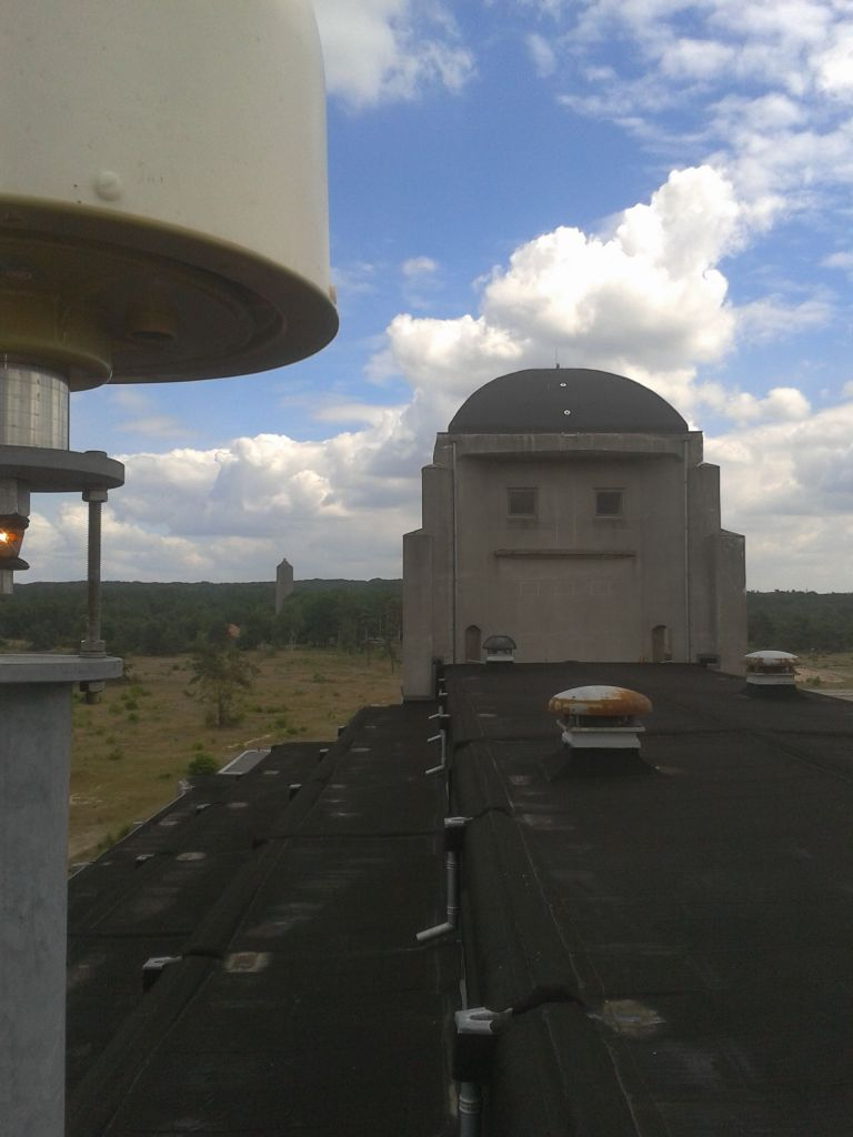 View to the East from GNSS antenna.