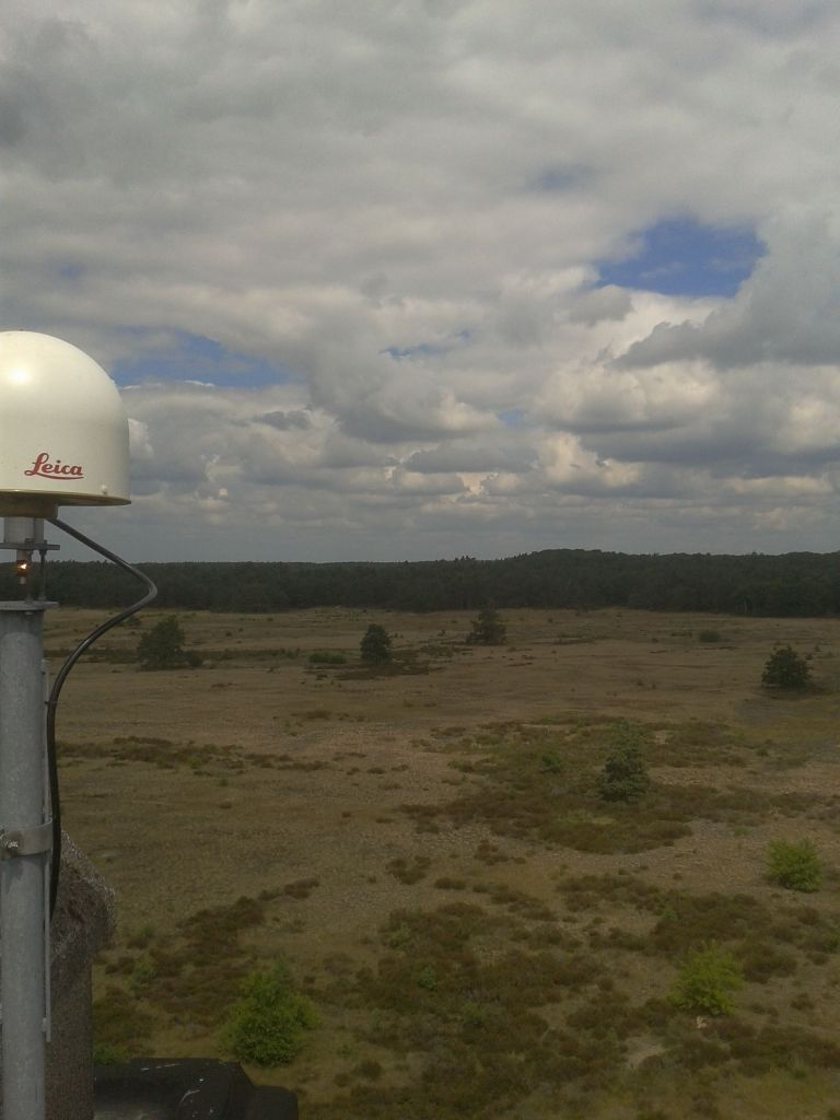 View to the North from the GNSS Antenna