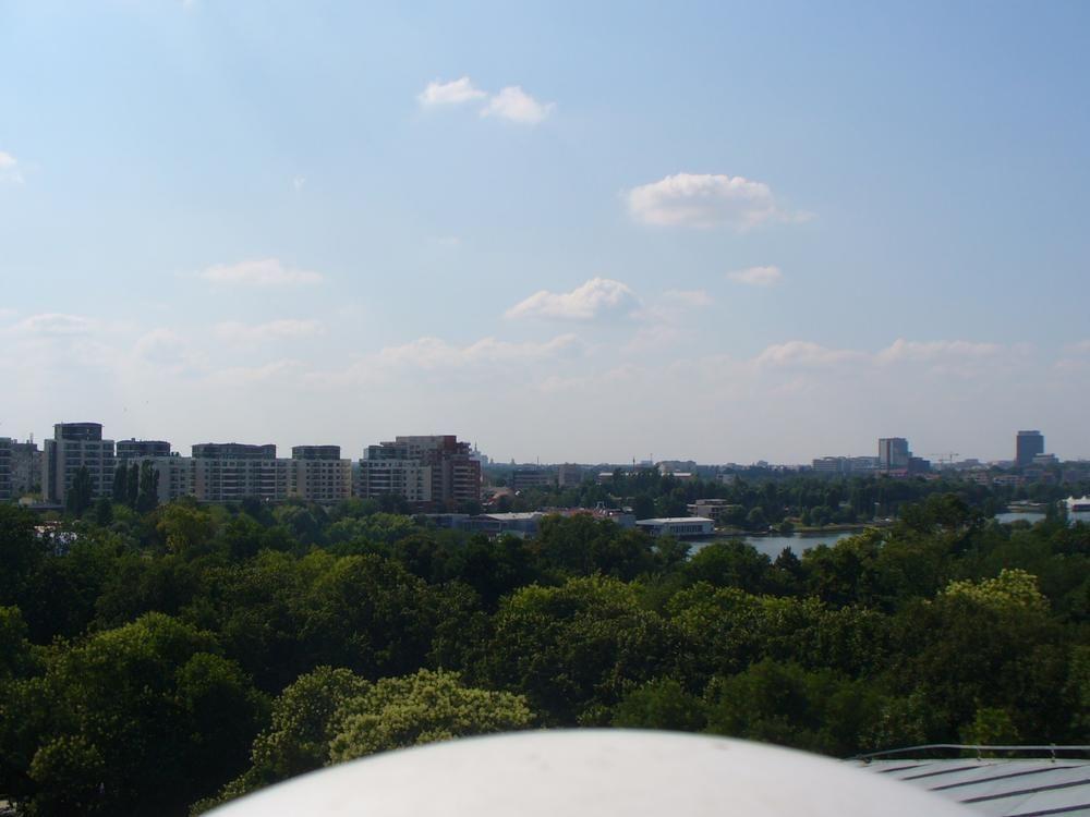 North-West horizon view.