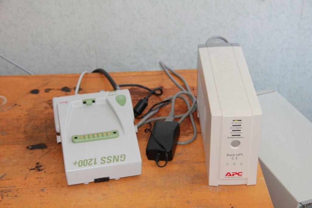 LEICA GRX1200+GNSS receiver.