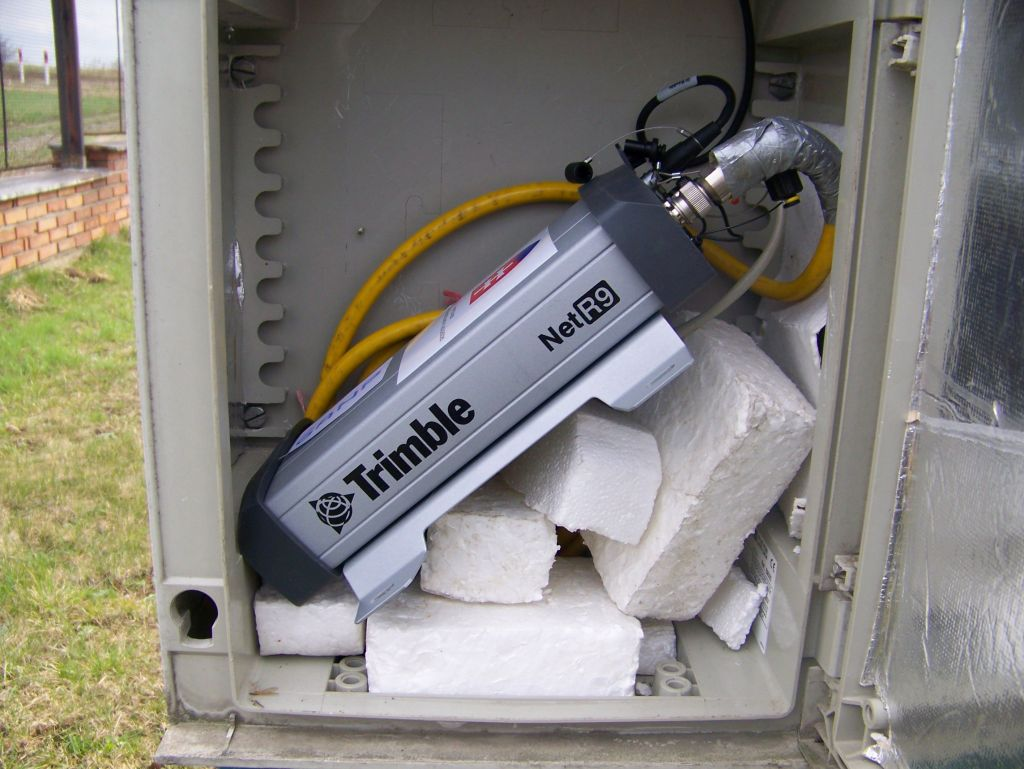 Receiver: Trimble NETR9, S/N: 5207K82163 (19.04.2012 - 06.02.2017)