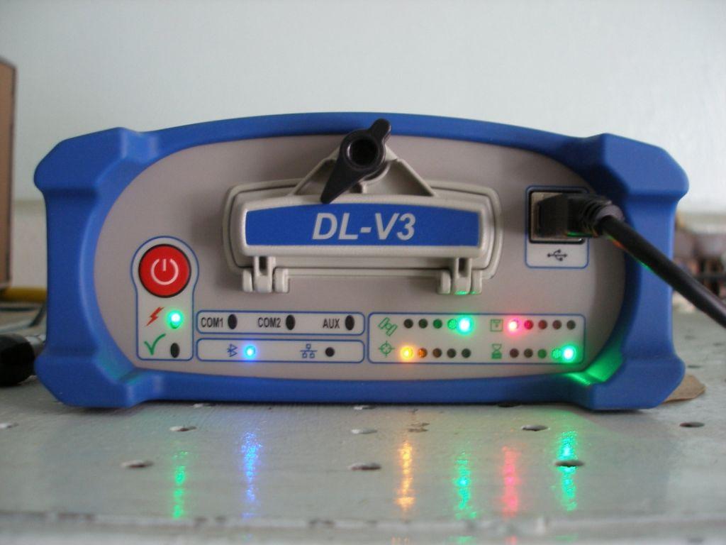 NovAtel DL-V3 receiver (NOV OEMV3).