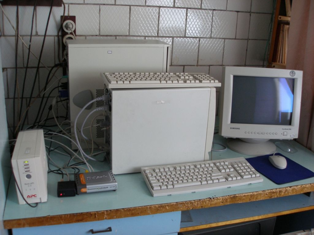 Station PC and local NTP server.