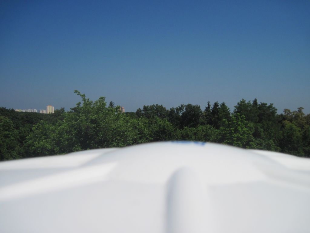 The TRM115000.00 antenna, view to the north.