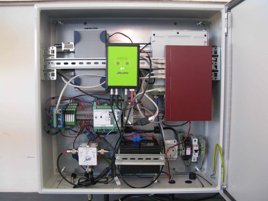 receiver rack (JAVAD TRE_3 DELTA)