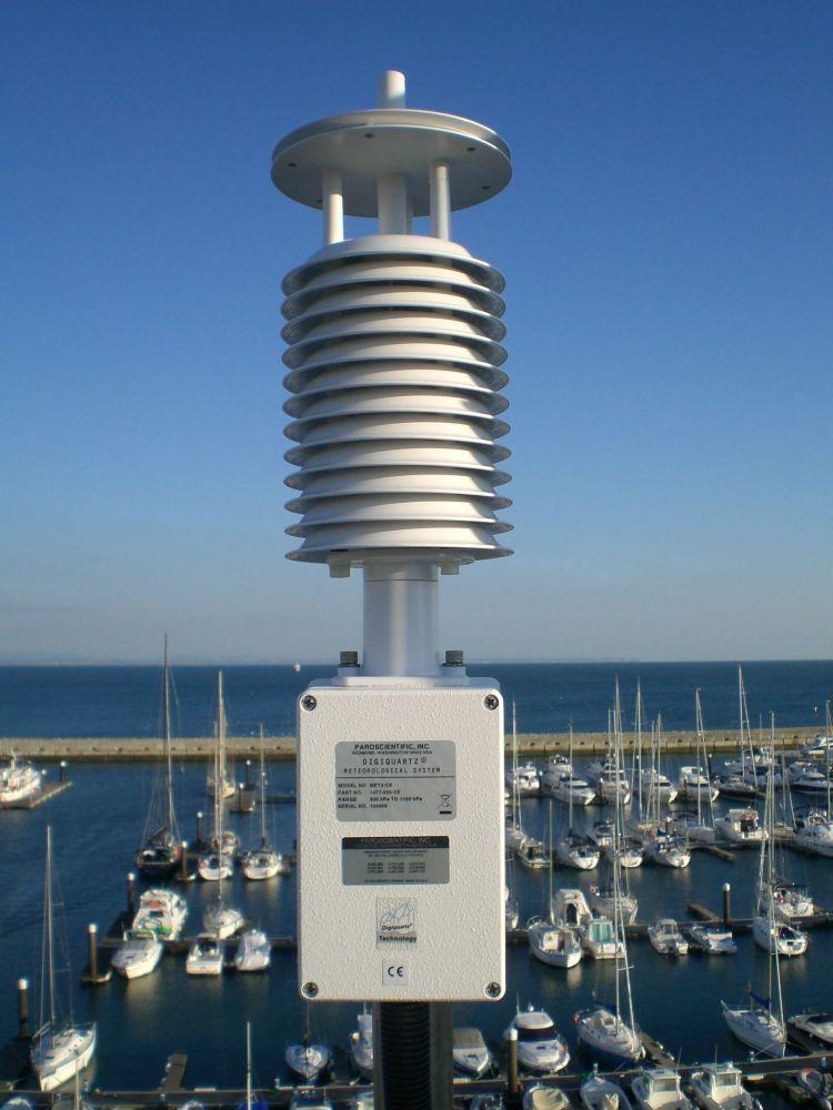 Paroscientific Meteorological Sensor detail.
