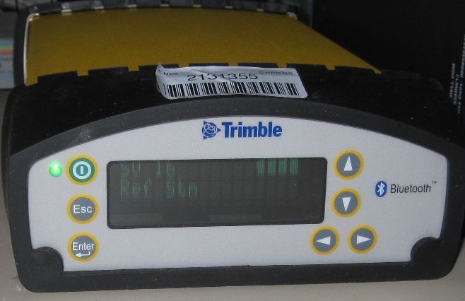 TRIMBLE NETR5 receiver.