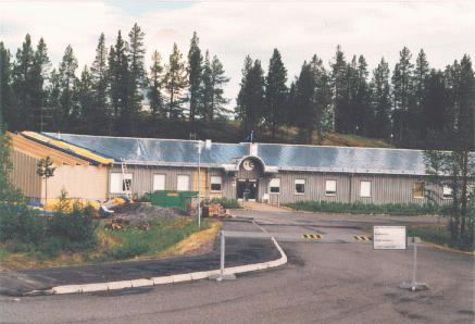 Kiruna main equipment room.