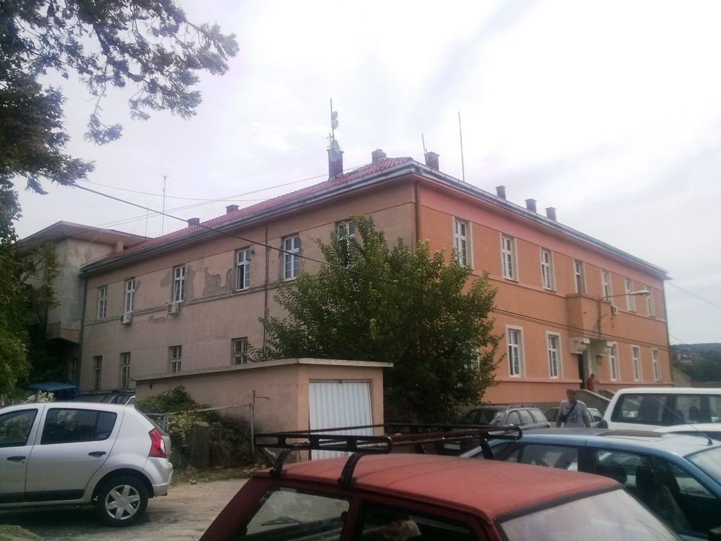 Snapshot of local cadastre building in Knjazevac city, where AGROS CORS station KNJA is located
