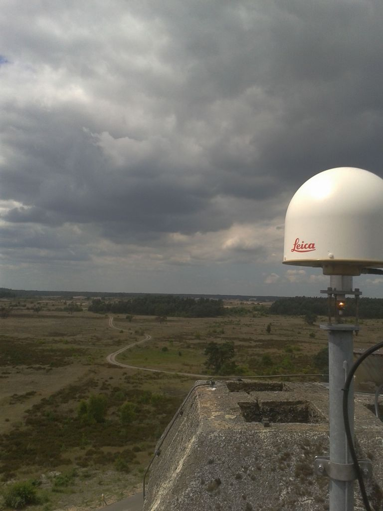 View to the West from the GNSS antenna