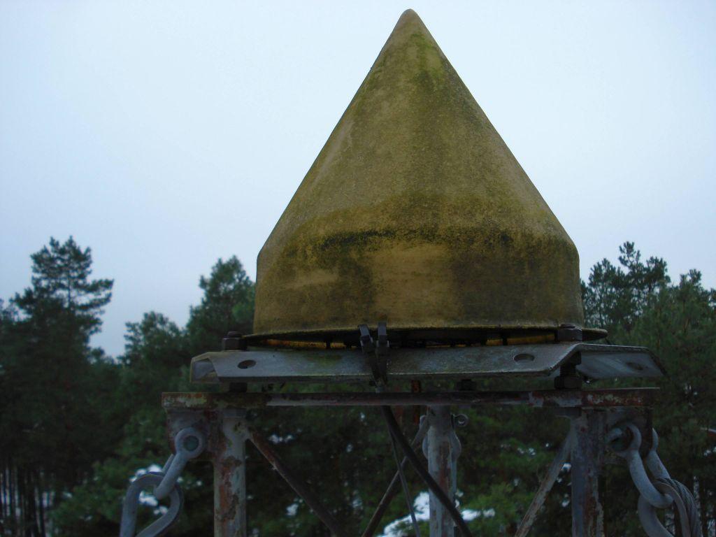 KOSG Dorne Margolin B antenna with DUTD radome