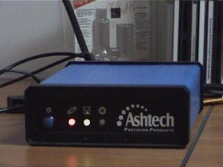 Ashtech UZ-12 (uZ-CGRS) GPS receiver.