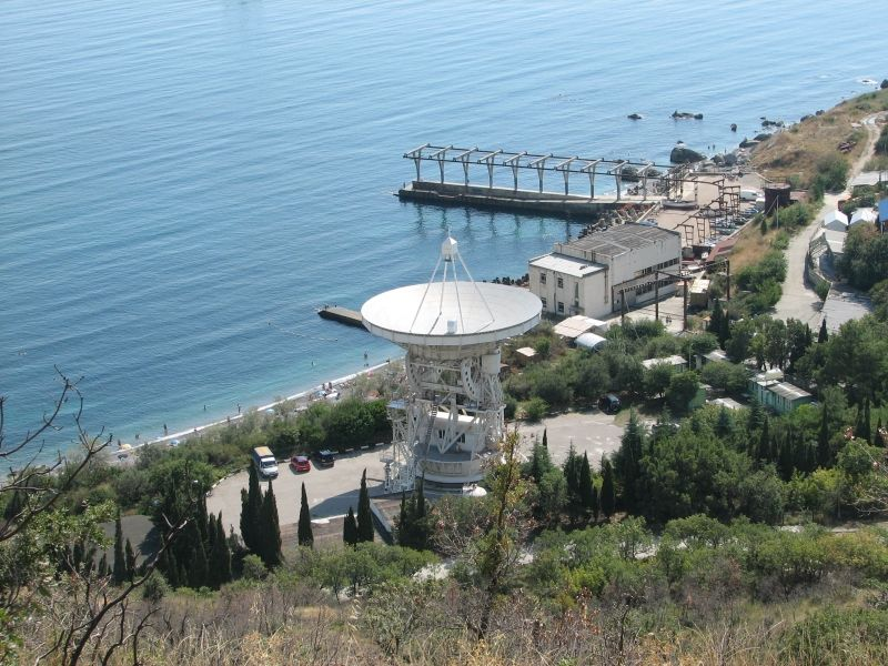 22-m radiotelescope (CDP number: 7332, DOMES number: 12337S008, IVS code: Sm, 8-letter name: CRIMEA).