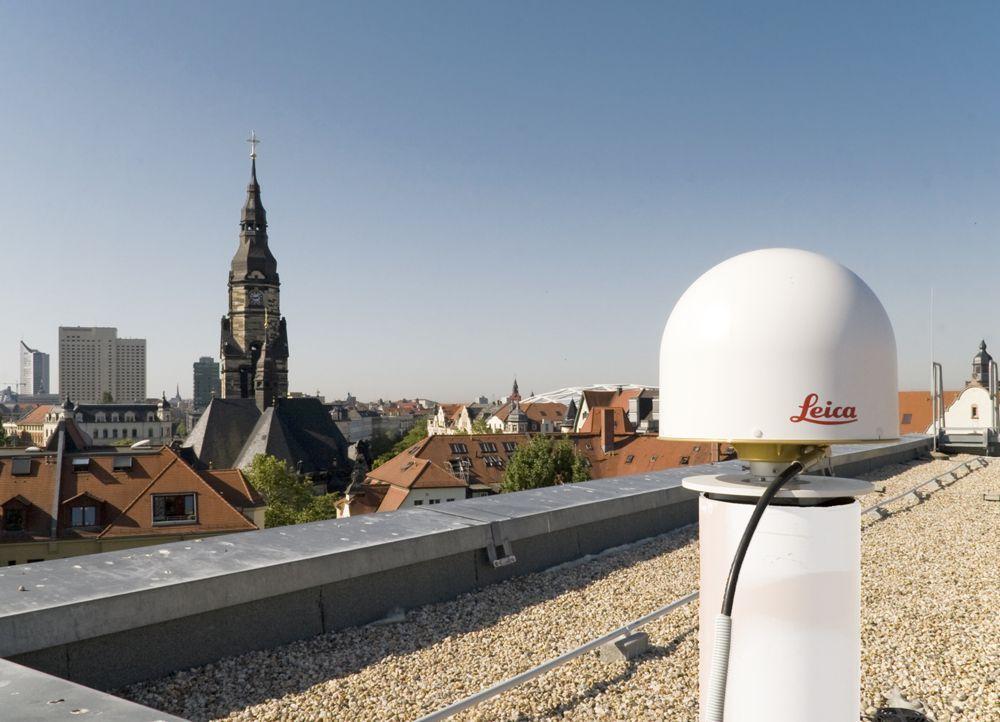 pillar on the roof of BKG-Leipzig