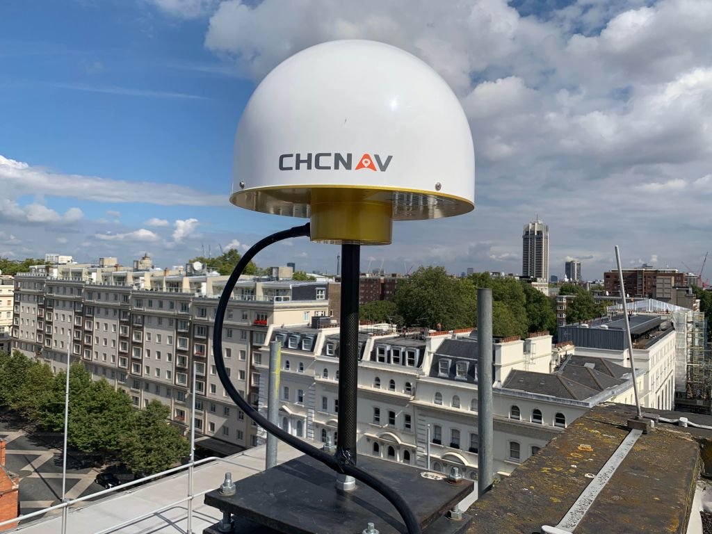 East view of LICC antenna at Imperial College London South Kensington