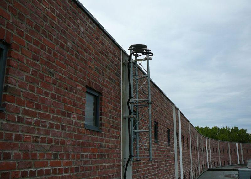 antenna installation.