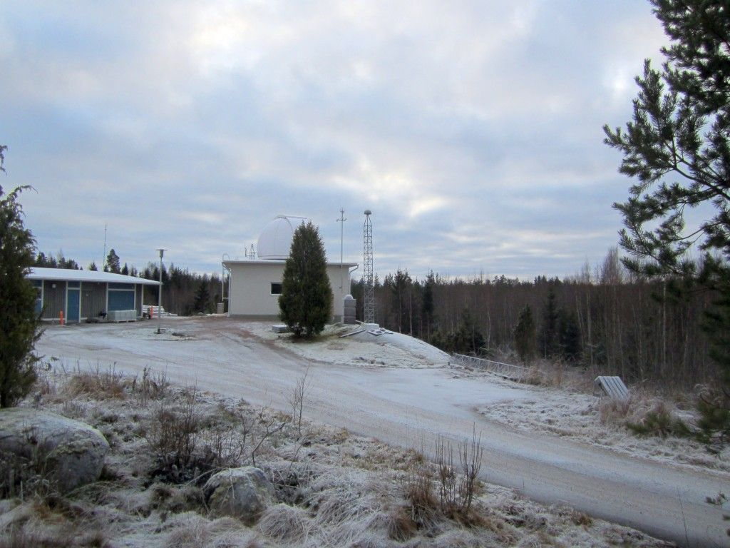 An overview of the MET3 station at the Metsähovi Geodetic Research Station.