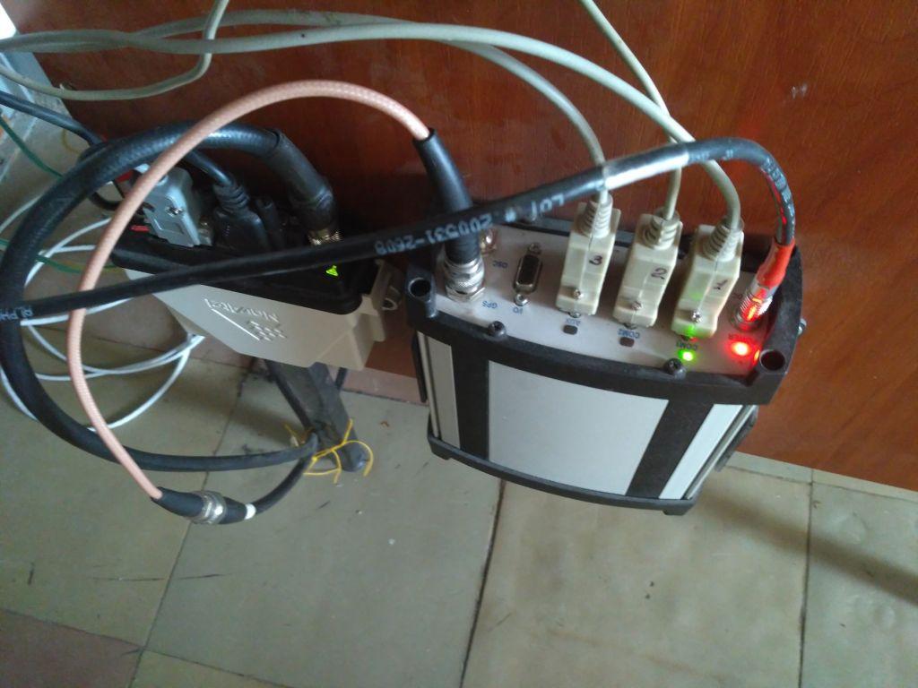 The NOV OEMV3 receiver (ProPak-V3 enclosure).