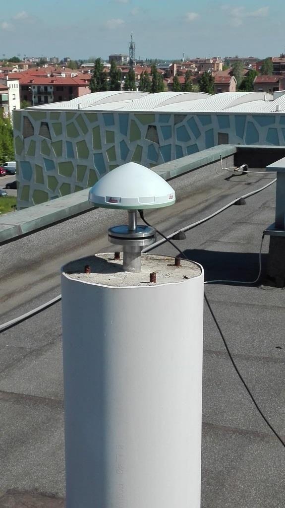 the new antenna LEIAR10 view.