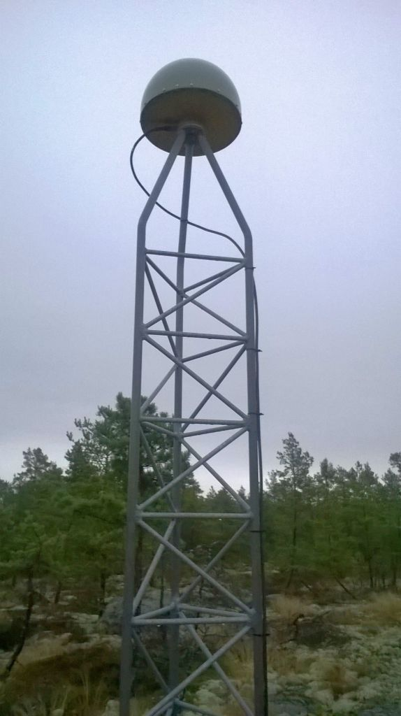 monument and antenna.
