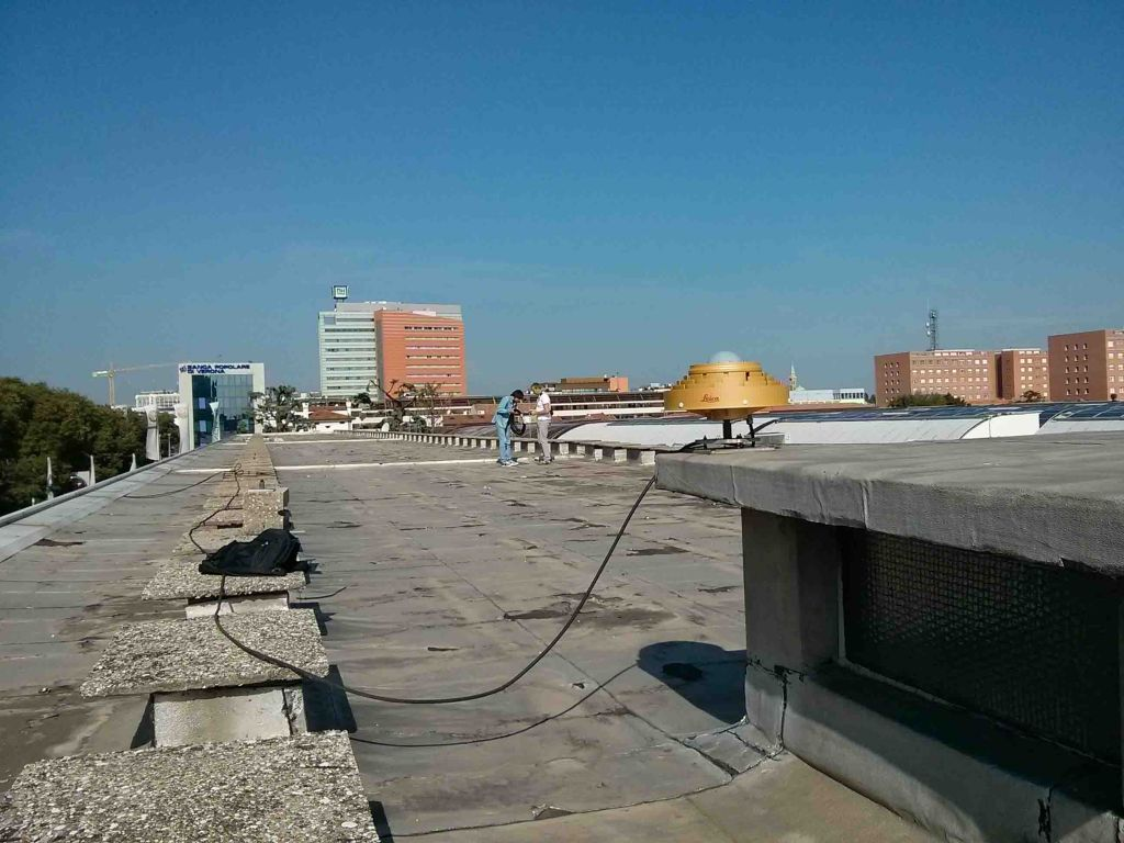 New antenna for Padua