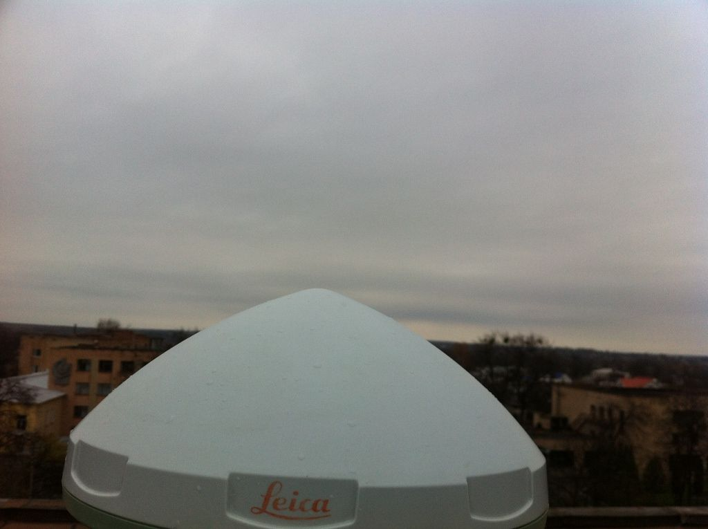 Antenna, view to the east.