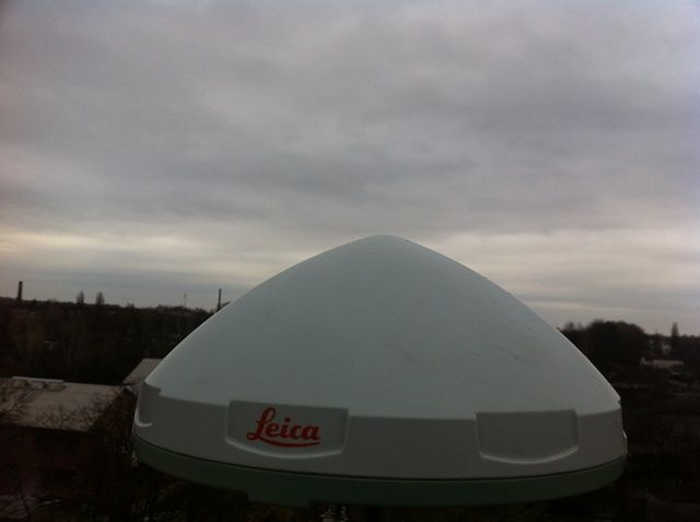 Antenna, view to the south.