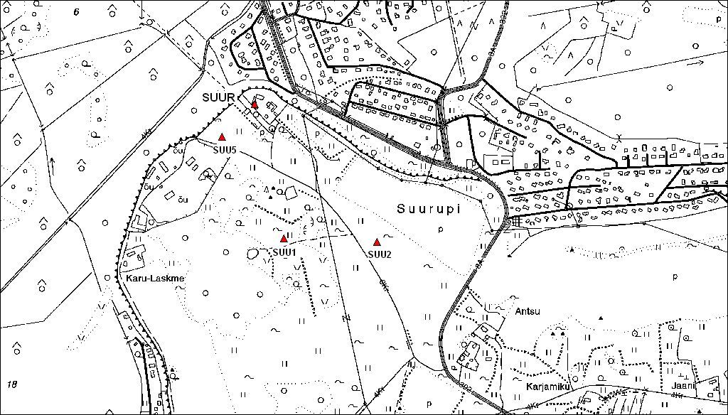 site map of SUUR permanent station.
