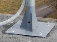 mounting construction of the antenna.