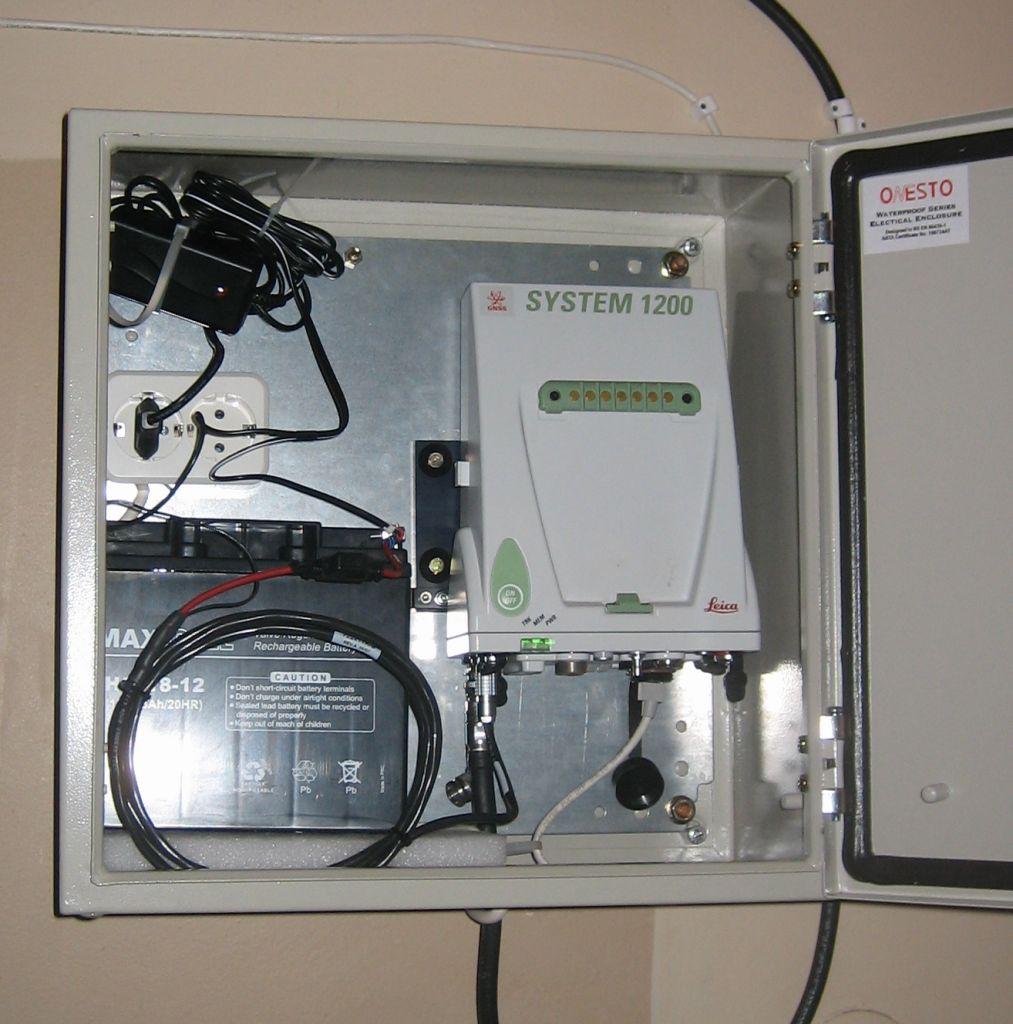 GPS+GLONASS receiver Leica GRX1200GG PRO.