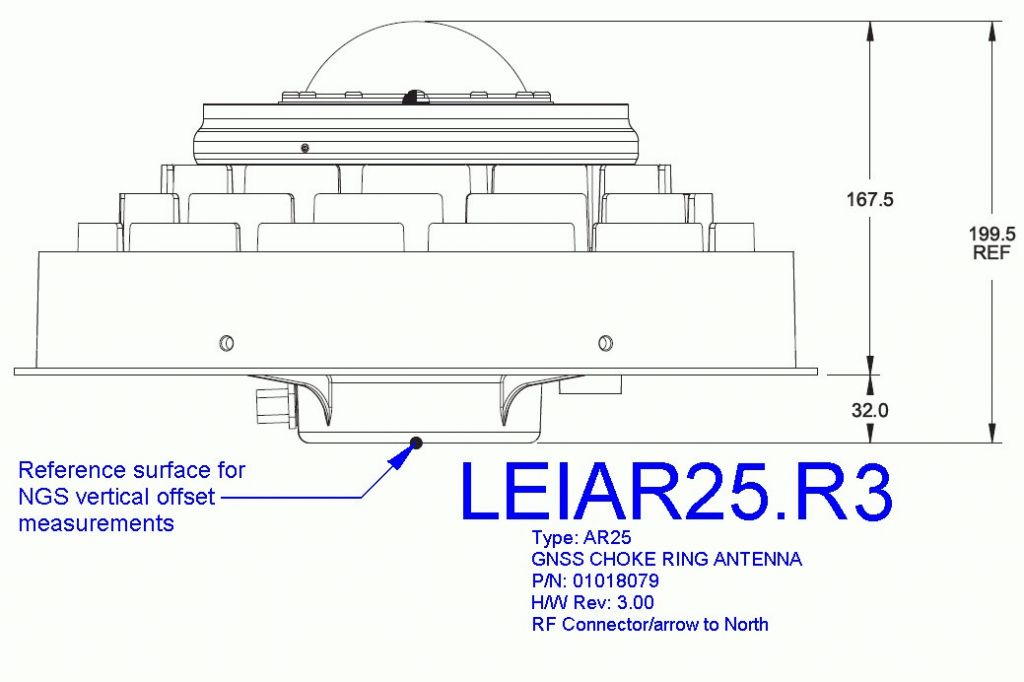 LEIAR25.R3 antenna diagram (fromwww.ngs.noaa.gov/).