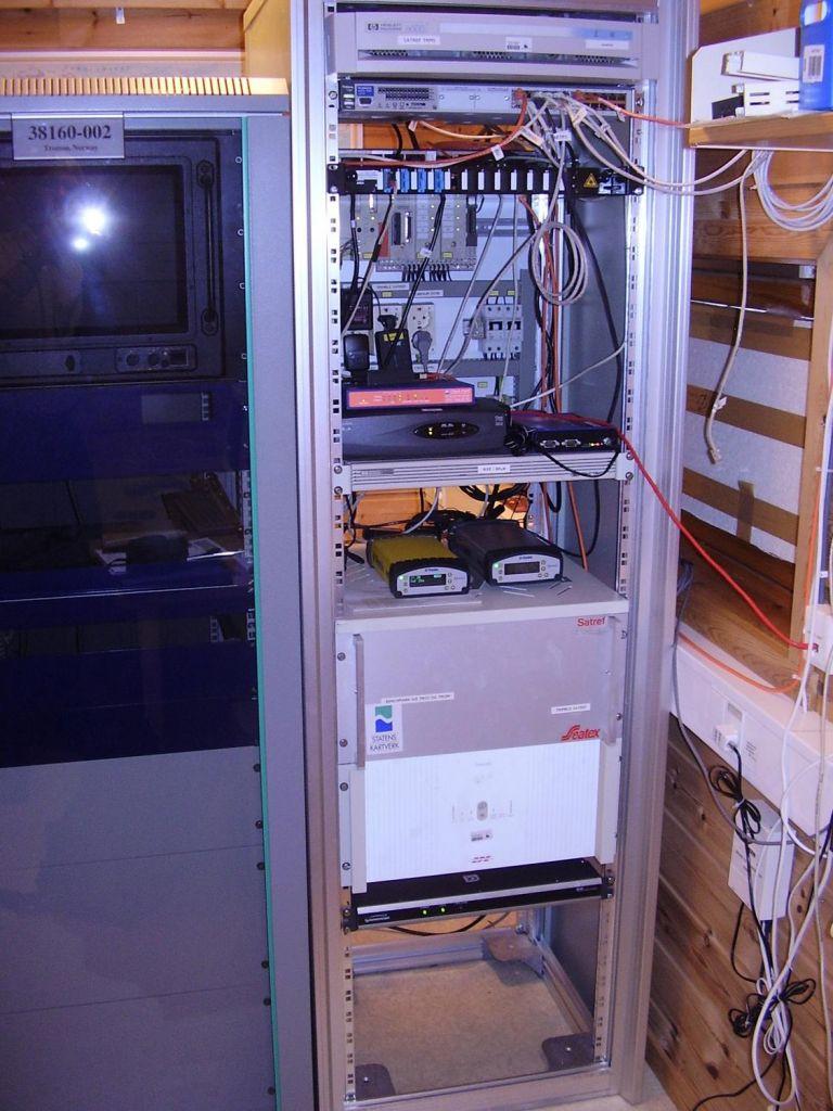 GNSS-receivers, Trimble NetR8, NetR5, Septentrio.