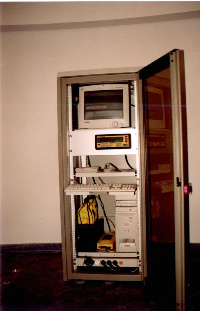 receiver rack.